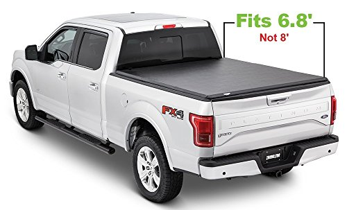 Tonno Pro HF-352 Black Hard Fold Truck Bed Tonneau Cover 1999-2018 Ford F-250 to F-450 | Fits 6.8