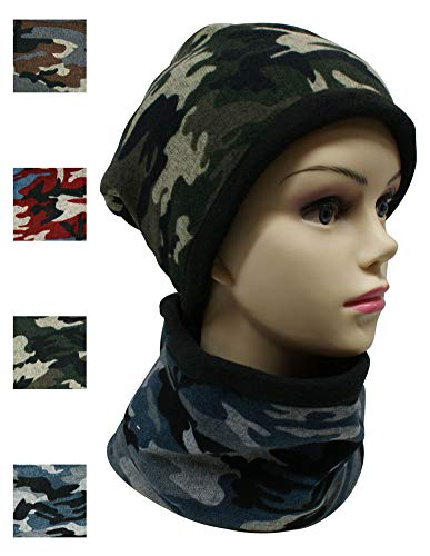 - Top 4 Pack Camo Arm Winter Neck Warmer Gaiter Hat for Men Best Great Infinity Scarf Cool Unique Themed Christmas Stocking Stuffer Gift Idea Under 5 Dollars Sale Him Dad Teen Daughter Son Skier 2018