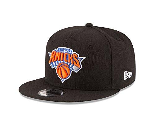 NBA New York Knicks Adult Men NBA 9Fifty Team Color Basic Snapback Cap,Osfa,black