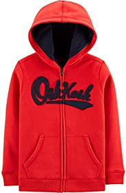 OshKosh Boys Toddler Full Zip Logo Hoodie