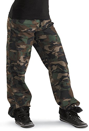 Urban Groove Camo Pants Hip-Hop Camouflage Child Small by Balera