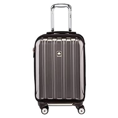 Delsey Luggage Helium Aero International Carry On Expandable Spinner Trolley (19 )