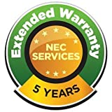 NEC EXTWRMX-5Y-16 EXTWARR, MONITORS LARGE EQUAL TO 60 INCH 5YR DEPOT RETURN WITH 2-DAY FREIGH