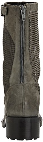 SPM Folli 3/4 Boot - botas de cuero mujer gris - Grau (Dk Grey 006/Dk Grey 006)