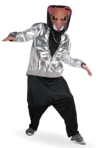 Hip Hop Hamster Adult Costume (Hamster Costume For Adults)