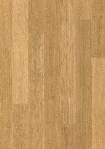Quick-Step Eligna Oak Laminate Flooring Varnished Natural (EL896) (Best Laminate Flooring Uk)