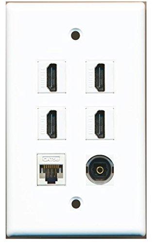 Digital Audio Wall Plate - 7