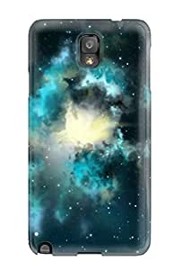 New Tpu Hard Case Premium Galaxy Note 3 Skin Case Cover(hd Space)