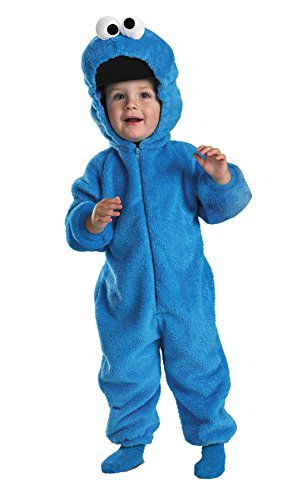 Costumes For All Occasions Dg6598W Cookie Monster Deluxe 12-18Mon for $<!--$33.67-->