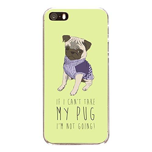 "Disagu SF-sdi-3796_1166#zub_cc4079 Design Schutzhülle für Apple iPhone 5 - Motiv ""Take my pug"""