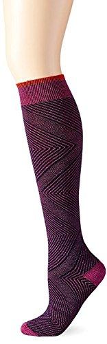 即席使役天気Goodhew Women's Diamond Maze Socks Violet Small/Medium [並行輸入品]