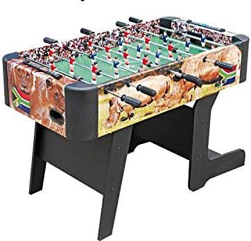 T. PLANET SHOPS, S.L. - Futbolin Plegable C/Barras Telescop, Talla 150 x 40 x 45: Amazon.es: Juguetes y juegos