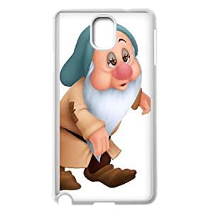 Samsung Galaxy Note 3 Cell Phone Case White Snow White and the Seven Dwarfs Character Bashful Z0032369