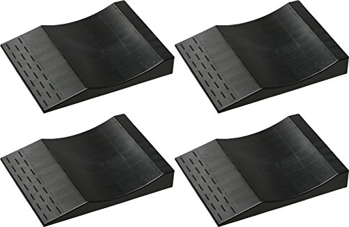 MAXSA 37353 Park Right Tire Saver Ramps for Flat Spot Prevention and Vehicle Storage (Set of 4), Black by Maxsa Innovations (Image #5)