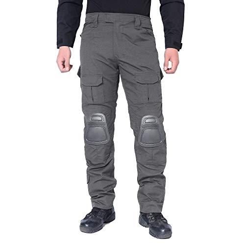 Marque Hommes Grau Combat Avec Bolawoo Multicam Airsoft Poches Mode Genouillot Chasse Randonnée Tactique Pantalon qOOgzEA