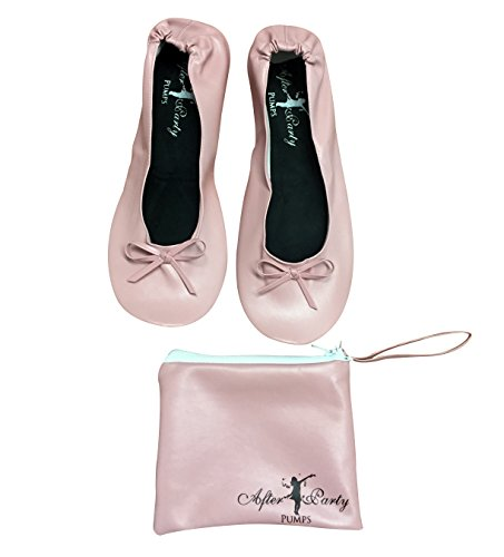 da da Nude donna borsetta Scarpe ballerine Pink cFRyq1w0S