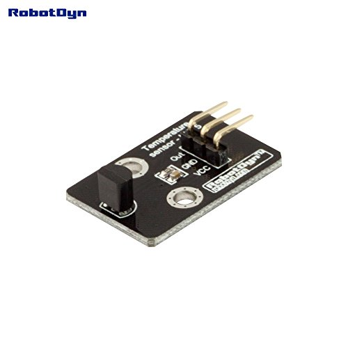 RobotDyn - LM35 - Temperature sensor for DIY projects with Arduino, STM, Raspberry Temperature Sensor Schematic