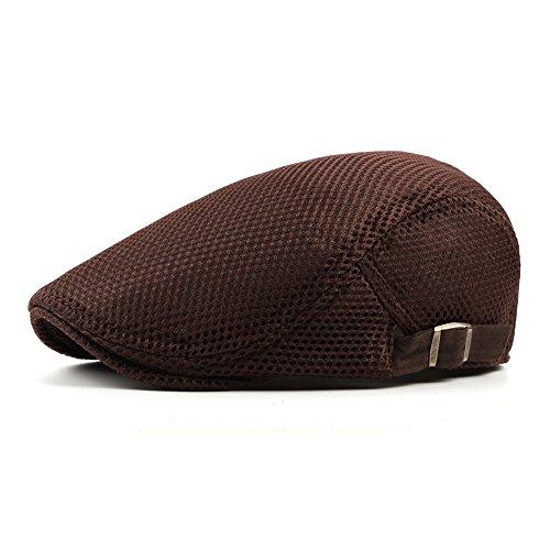 sombreros Los MASTER Halloween Brown mujer hombres hat Navidad pato adelante lengua calentito beanie sombreros gorro grid hombre Beret gris qqScEg