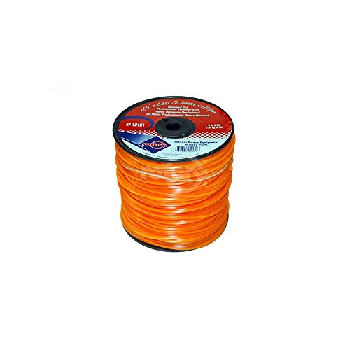 Trimmer Line.105 3# Spool Orange Diamond Line
