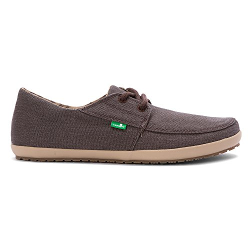 Sanuk Out Knock Washed Brown on Slip Hombre rvTwqxErS