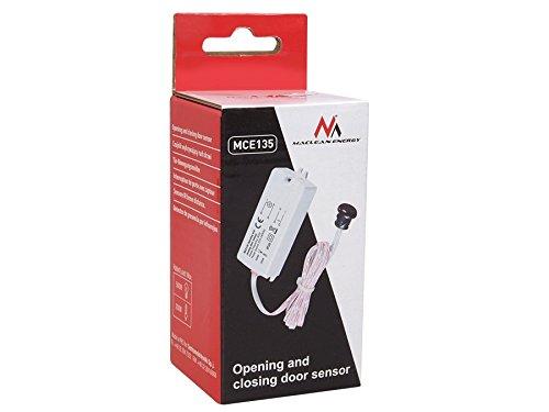 Maclean - Mce135 - Sensor de Movimiento pir de Corto Alcance de Puerta iluminación de armarios: Amazon.es: Hogar