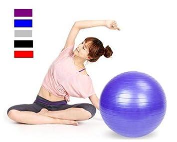 Amazon.com: Goujxcy - Balón de ejercicio, bola de yoga (21.7 ...
