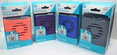 O2COOL Deluxe Portable Personal Battery Operated Necklace Fans (12 Pack) by O2COOL (Image #6)
