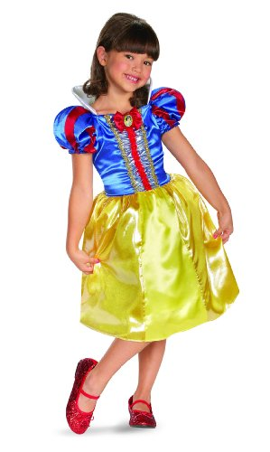 Making Snow White Costume (Disguise Disney Snow White Sparkle Classic Girls Costume, 7-8)