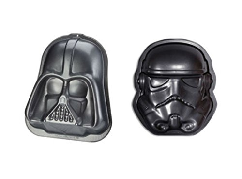 DARTH VADER & STORMTROOPER BAKING PAN / TRAY / CAKE MOLD / SET Culinary Tool