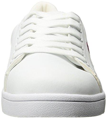 Sneaker Ginger SGR Flower Women's Sugar Fashion W Embroid White EqIZ5w