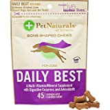 Pet Naturals of Vermont Daily Best for Dogs Chicken Liver — 45 Flavored Chews, My Pet Supplies