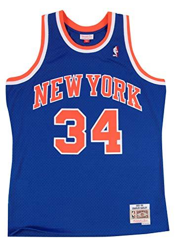 - Mitchell and Ness New York Knicks Charles Oakley NBA Men's Hardwood Classic Swingman Jersey