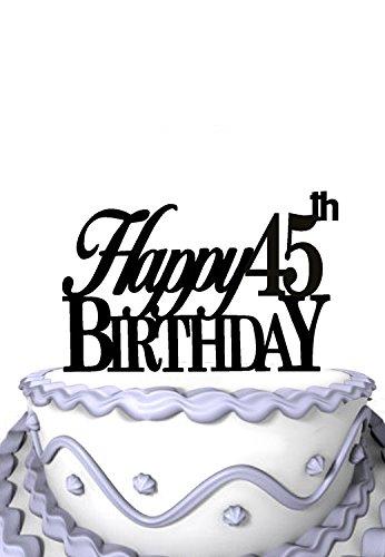 Amazon Com Meijiafei Happy 45th Birthday Mom Or Dad Birthday Party