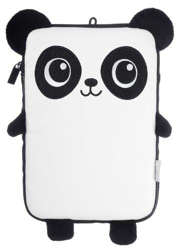 My Doodles Universal Hülle Sleeve Pouch Case für 7 Zoll (17,8cm) Tablet und E-Book Reader Kompatibel mit iPad Mini, Google Nexus 7, Samsung Galaxy Tab 3 7.0, Kindle Fire HD 7 Zoll und Tesco Hudl - Panda