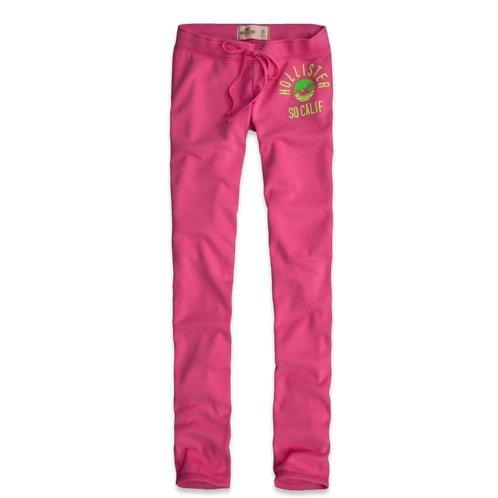 69e7b2c0c09 Hollister femmes   filles Pantalon de survêtement (Skinny Fit) avec Soft  taille coulissée rose Moyenne  Amazon.fr  Vêtements et accessoires