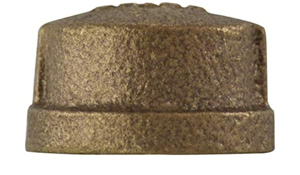 3//4 0.87 Height 3//4 Midland Metal Bronze Lead Free Size 0.87 Height Midland 44-474LF Bronze Fitting Cap