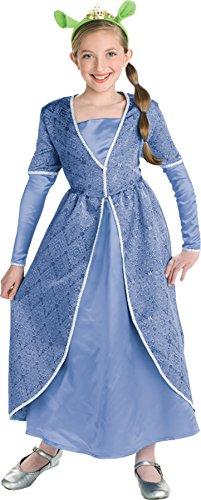 Princess Fiona Ogre Costumes (Deluxe Princess Fiona - Large)