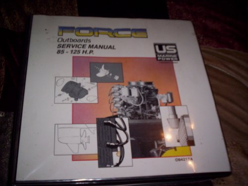 (Force Outboards Service Manual 125 h.p. D models)