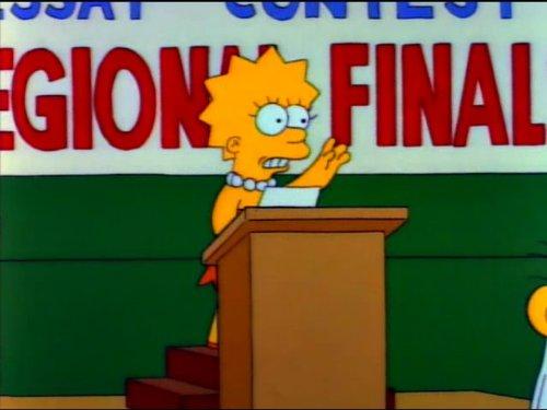 (Mr. Lisa Goes To Washington)