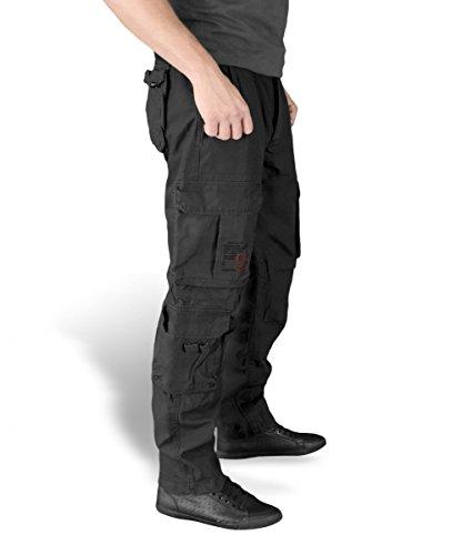 Surplus Airborne Vintage Slimmy Trousers, schwarz, Größe L