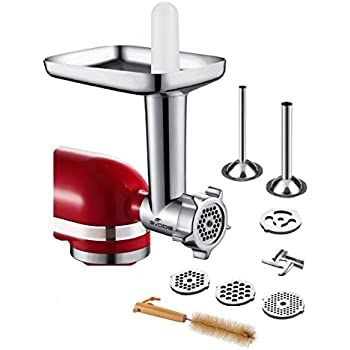 Amazon Com Food Meat Grinder Attachment Compatible With