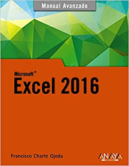 Excel 2016 por Francisco Charte epub