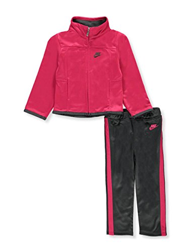(NIKE Girls' 2-Piece Tracksuit - Anthracite, 24 Months)