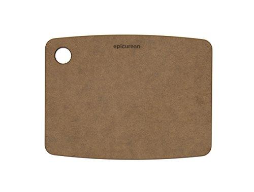 Epicurean 001-080603 Kitchen Series Cutting Board, 8-inch by 6-inch, Nutmeg (Recycled Series Cutting Board)