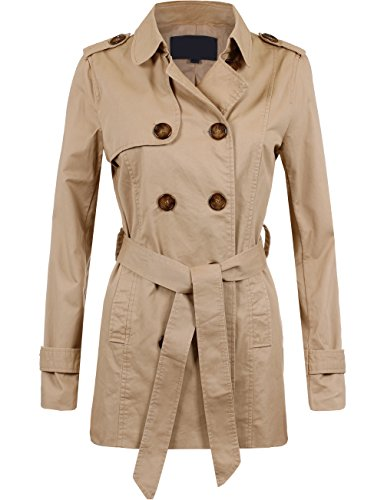 Cotton Twill Trench - 5