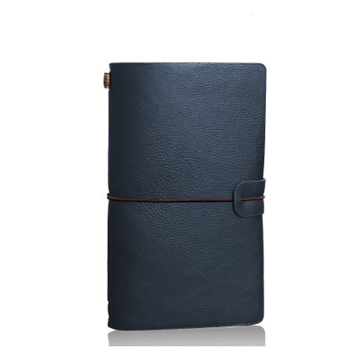 Dark Blue Notepad Holder - 3