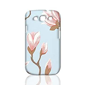 Large magnolia printed 3D Rough Case Skin, fashion design image custom, durable hard 3D , Case New Design For Case Iphone 6Plus 5.5inch Cover , By Codystore