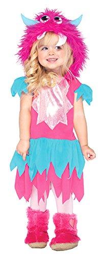 Sweetheart Monster Costume - (Toddler Sweetheart Monster Costumes)