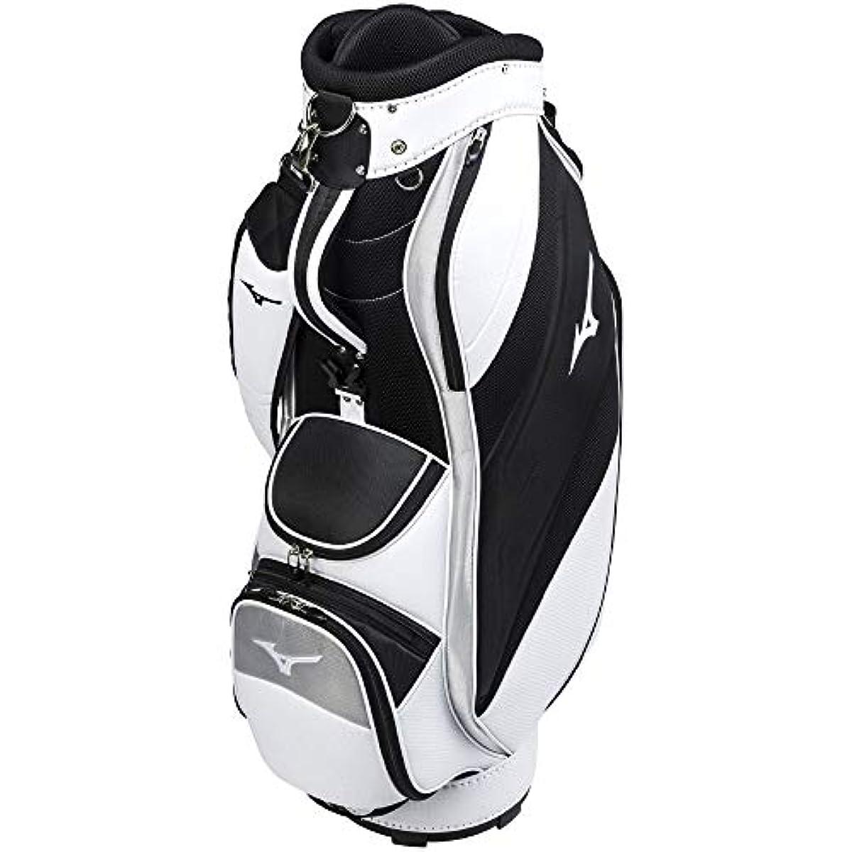 [해외] 미즈노 골프 캐디백 화이트x블랙 5LJC200200