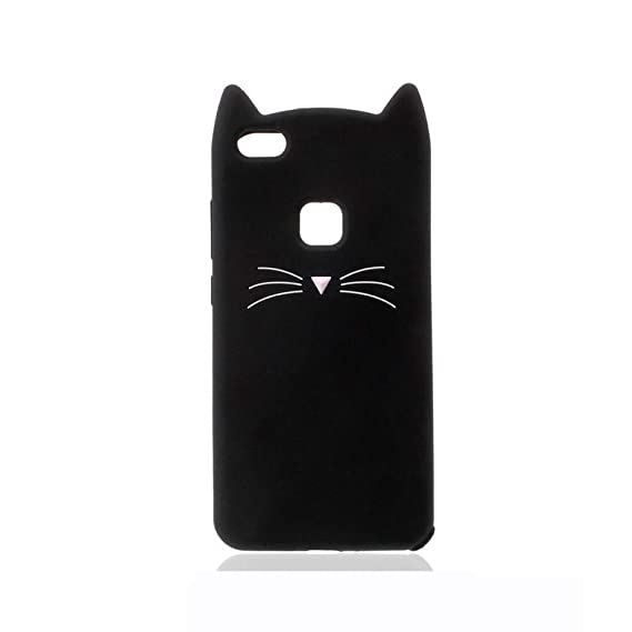 Amazon.com: KCHHA Phone case 3D Mustache Cat Phone Case for ...